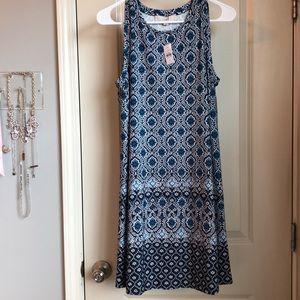 NWT Paisley Shift Dress from Loft